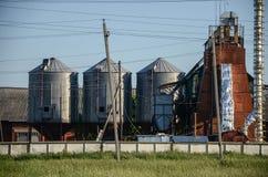 зерно лифта старое Стоковые Фотографии RF