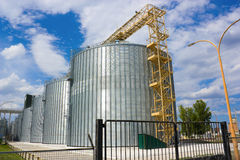 зерно лифта Стоковое Изображение