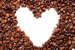 зерно рамки кофе стоковое изображение