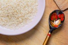 Зерно риса Здоровая, вкусная, и очень здоровая еда Стоковые Фото