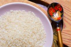 Зерно риса Здоровая, вкусная, и очень здоровая еда Стоковая Фотография