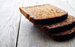 зерно хлеба коричневое все Стоковое Изображение