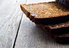 зерно хлеба коричневое все Стоковое Изображение RF