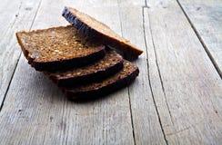 зерно хлеба коричневое все Стоковые Фото