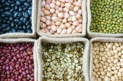 Зерно, хлопья, здоровая еда, еда питания Стоковое Фото