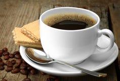 зерно черного кофе Стоковые Фотографии RF