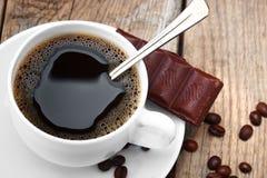 зерно черного кофе Стоковые Изображения RF