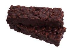 зерно шоколада штанги Стоковое фото RF
