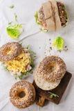 зерно bagels все Стоковые Фотографии RF
