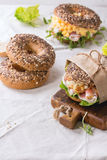 зерно bagels все Стоковые Фото