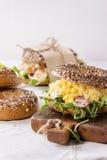зерно bagels все Стоковое Изображение RF