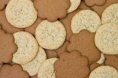 зерно gingerbread печений предпосылки Стоковое фото RF