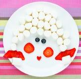 Зефир с помадками клубники американскими для детей Pictur стоковые изображения rf