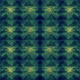 Зеленая абстрактная геометрическая картина предпосылки Стоковое Изображение RF