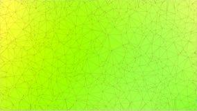 Зеленая абстрактная геометрическая rumpled триангулярная низкая поли предпосылка графика иллюстрации стиля Стоковое Фото