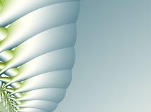 Зеленая абстрактная предпосылка с структурой любит гусеница или куколки Стоковое фото RF