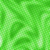 Зеленая абстрактная предпосылка с точками полутонового изображения Стоковые Фото