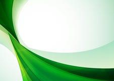 Зеленая абстрактная предпосылка Стоковая Фотография RF
