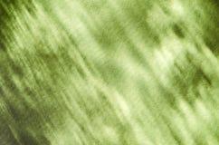 Зеленая абстрактная светлая предпосылка отражения Стоковое Изображение