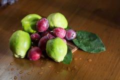 Зеленая айва, Италия, apulia Стоковое Изображение