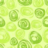Зеленая безшовная картина бесплатная иллюстрация