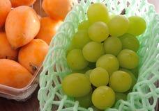 Зеленая виноградина Стоковые Изображения