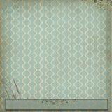 Зеленая винтажная предпосылка обоев Стоковое Изображение RF
