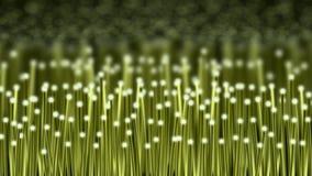 Зеленая волоконная оптика иллюстрация вектора