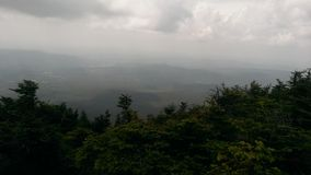 Зеленая гора Стоковая Фотография RF