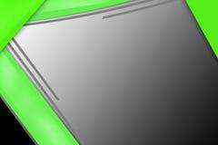 зеленая граница, абстрактная предпосылка Стоковое Изображение