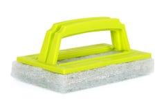 Зеленая губка чистки Стоковое Изображение RF