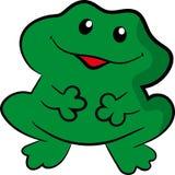 зеленая жаба Стоковые Изображения