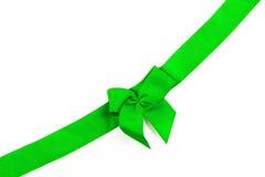 Зеленая изолированная лента Стоковые Изображения