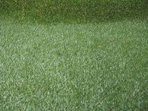 Зеленая искусственная предпосылка текстуры травы Стоковые Изображения RF