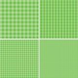 Зеленая и белая предпосылка для пикников 10 eps Стоковые Изображения RF