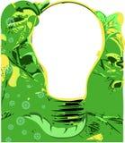 зеленая идея Стоковое Изображение RF
