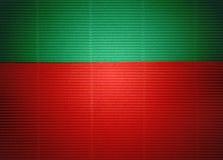 Зеленая и красная бумажная текстура как предпосылка Стоковая Фотография RF