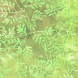 Зеленая картина батика Стоковое Изображение RF