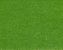 зеленая кожаная текстура Стоковые Фотографии RF