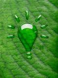 Зеленая концепция энергии Стоковые Фотографии RF