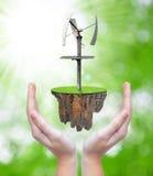 Зеленая концепция энергии Стоковые Фото