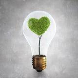 Зеленая концепция энергии Стоковое Изображение RF