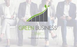Зеленая концепция Eco ответственности консервации Busienss Стоковые Изображения