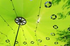 зеленая крыша Стоковое Фото