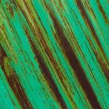Зеленая металлическая предпосылка Стоковая Фотография