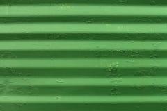 Зеленая металлическая пластина Стоковые Фотографии RF