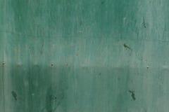 Зеленая металлическая пластина Стоковая Фотография