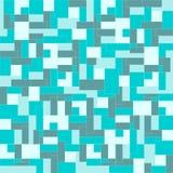 зеленая мозаика Стоковые Фотографии RF