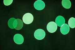 Зеленая нерезкость Стоковое Фото