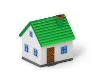 Зеленая дом крыши бесплатная иллюстрация